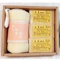台灣茶摳香皂禮盒(伴手禮)1G+3